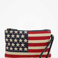 Urban Outfitters - Ecote Stars & Stripes Wristlet Zip-Pouch