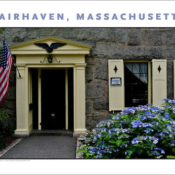 Wall Art, Historic Fairhaven, MA Digital Photo #720