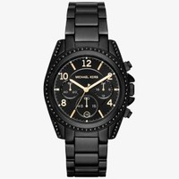 Blair Pavé Black-Tone Watch | Michael Kors