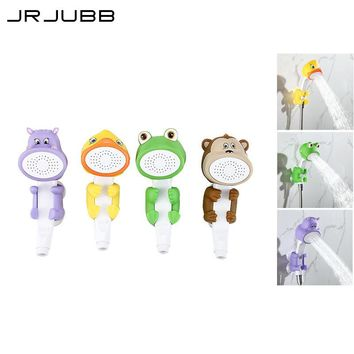 Lovely cartoon shower Children Show Heads ABS animal hand shower Child Shower Bath Toy Baby Shower