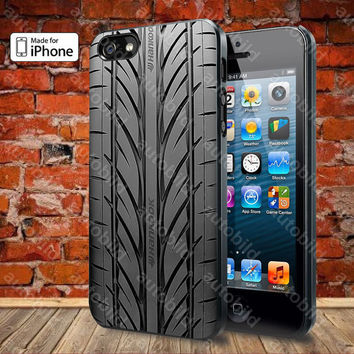 Tire Pattern Case For iPhone 5, 5S, 5C, 4, 4S and Samsung Galaxy S3, S4