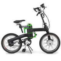 The Folding Electric Bicycle - Hammacher Schlemmer