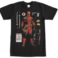 DeadPool Short-Sleeve Tshirt - Weapons Aresonal