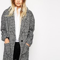 Only Check Print Blazer at asos.com