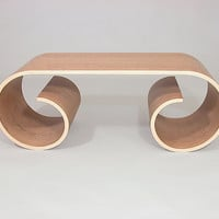 Iconic Table by Kino Guerin: Wood Coffee Table | Artful Home