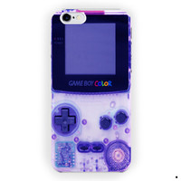 Nintendo Purple Game Boy Color For iPhone 6 / 6 Plus Case
