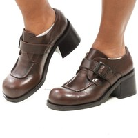 Vintage 90's Girl Scout Chunky Loafers - US 10