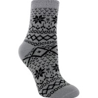 Yaktrax Women's Cozy Cabin Nortic Crew Sock