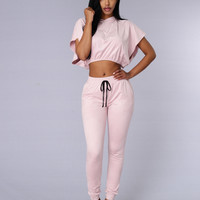 On Beat Jogger - Blush