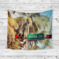 Ocean View Beach Gypsy Unique Dorm Home Decor Wall Art Tapestry