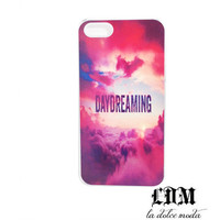 DAYDREAMING clouds iphone 4 iphone 4s iphone 5 hard plastic case hot pink trendy