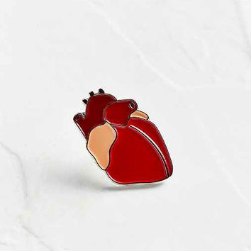VERAMEAT Heart Pin
