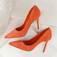 Pointed Toe High Heels Office Shoes