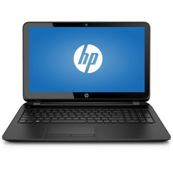 "HP Black 15.6"" 15-F033WM Laptop PC with Intel Celeron N2830 Processor, 4GB Memory, 500GB Hard Drive and Windows 8.1 - Walmart.com"