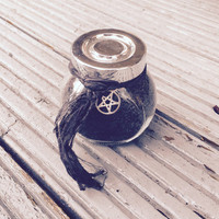Witches black salt banishing remove negativity protection dark arts remove unwanted people