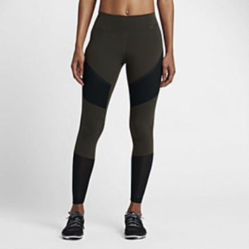 The Nike Power Legendary Women's Mid Rise Training Tights.