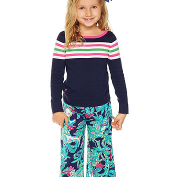 Lilly Pulitzer Girls Little Georgia-May Palazzo Pant