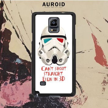 Star Wars Stormtrooper 06 Samsung Galaxy Note 4 Case Auroid