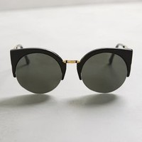Super Lucia Sunglasses by Super by Retrosuperfuture Black All Eyewear