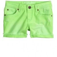 "Colored Denim Shorts | Girls Shorties 2½"" Inseam Shorts 