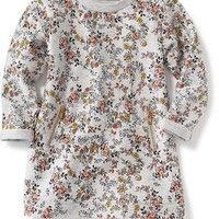 Zip-Pocket French-Terry Dress for Baby | Old Navy