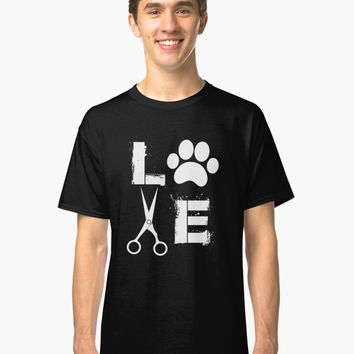 'Dog Grooming Love ' T-Shirt by AlwaysAwesome