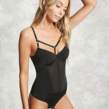 Sheer Push-Up Bodysuit
