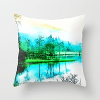 Tranquility Throw Pillow by D77 The DigArtisT | Society6