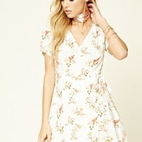 Contemporary Bird Print Dress