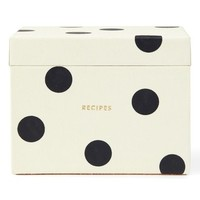 kate spade new york recipe box & cards set | Nordstrom