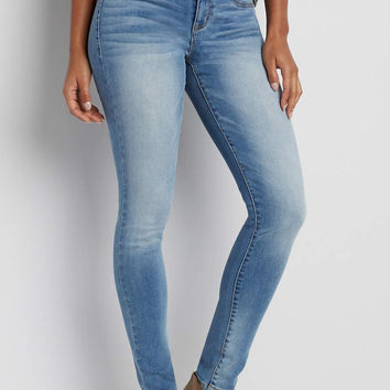 DenimFlex™ jegging in medium wash | maurices