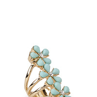 FOREVER 21 Daisy Trio Ring