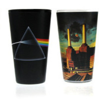 Pink Floyd - Album Covers  Pint Glass 4 - Pack Set