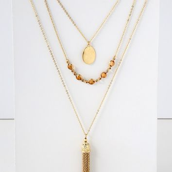 Faylee Gold Layered Necklace
