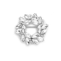 J.Crew Womens Circular Jewel Pin