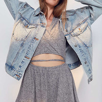 Out From Under Hey Love Cozy Fleece Romper | Urban Outfitters