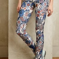 Kezia Leggings by Prismsport Blue Motif