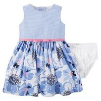 Just One You™Made by Carter's® Baby Girls' Dress - Blue Multi