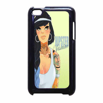 Hipster Jasmine Disney Princess iPod Touch 4th Generation Case