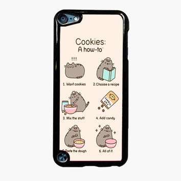 Pusheen cat cookies FOR IPOD TOUCH 5 CASE *PS*