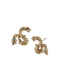 MEMOIRS OF BETSEY DRAGON STUD EARRINGS: Betsey Johnson