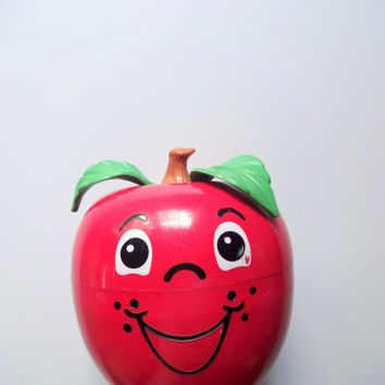 Vintage Fisher Price Happy Apple 1972