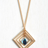 Minimal Geo Brio Necklace by ModCloth