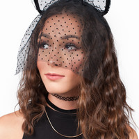 Kitty Floral Laced Headband