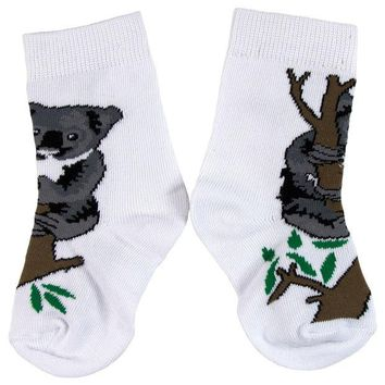 DCCKU3R Koala In Tree Juvy Socks