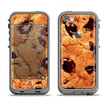 The Chocolate Chip Cookie Apple iPhone 5c LifeProof Fre Case Skin Set
