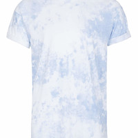 BLUE SMOKE WASH T-SHIRT - TOPMAN USA