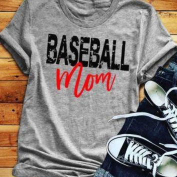 Baseball Mom, T-Shirt