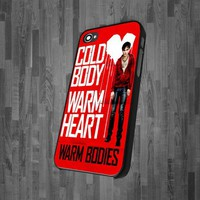 CA-493 Warm Bodies design for iPhone 4/4s,iPhone 5,Samsung S3 I9300