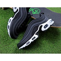 Nike Air Max 97 PLUS Black White Retro Sneaker AH8143-001 Sport Shoes